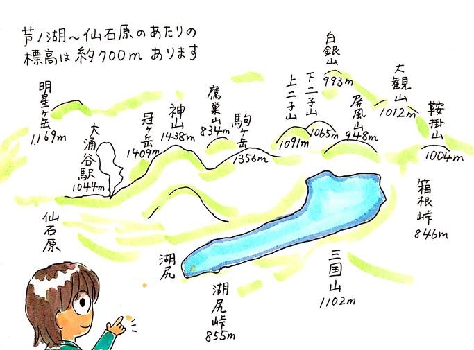 夏でも涼しい箱根仙石原