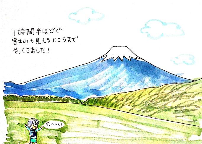 古仙石原すすき高原から箱根外輪山ハイキングへ(後編)