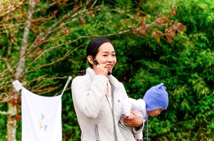 「箱根町森林セラピー®基地認定記念フェスティバル開催」イベントリポート⑤~はこねのもりde親子YOGA編~