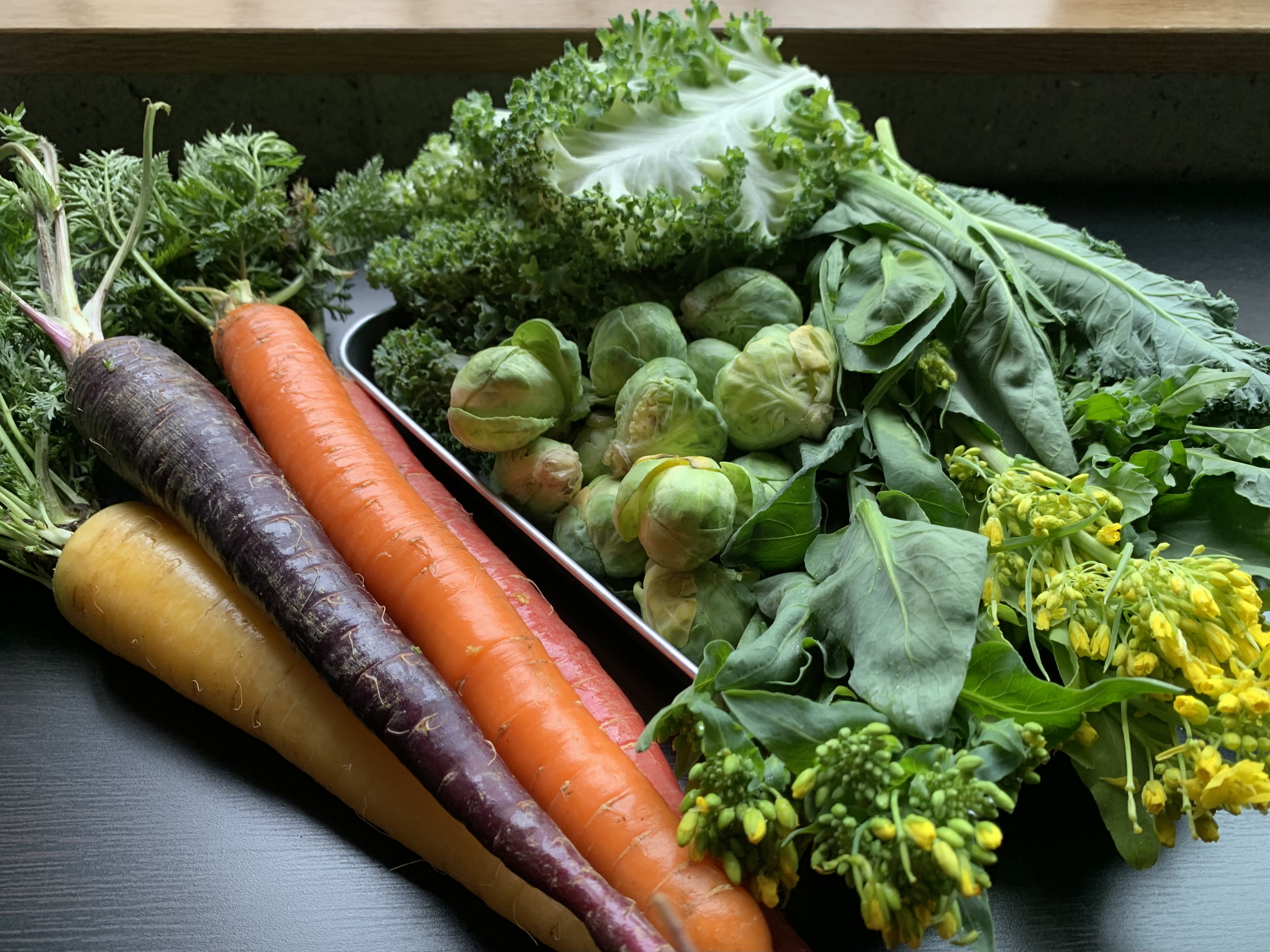 ビタミン豊富なカラフル春野菜の魅力